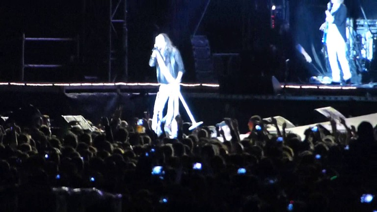 Aerosmith – WALK THIS WAY – Live in Sofia, 2014